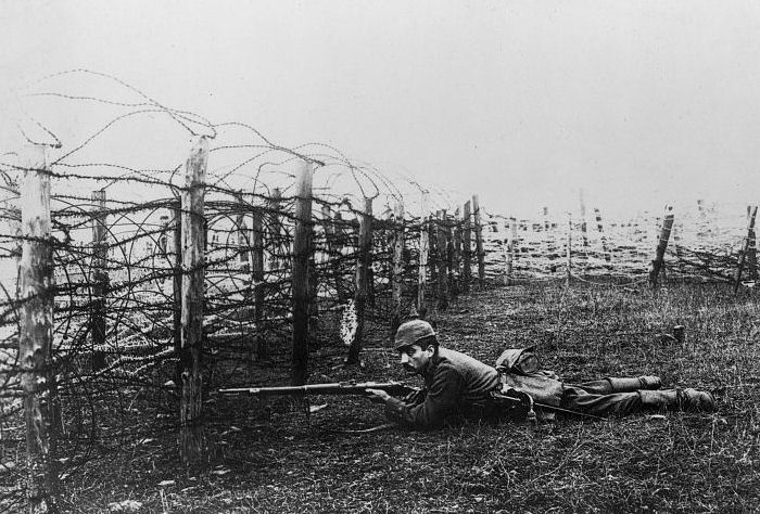 A Sniper in the Trenches, World War I