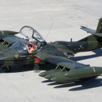 A-37 Dragonfly Grounded