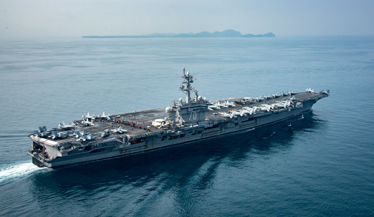 Aircraft carrier Carl Vinson