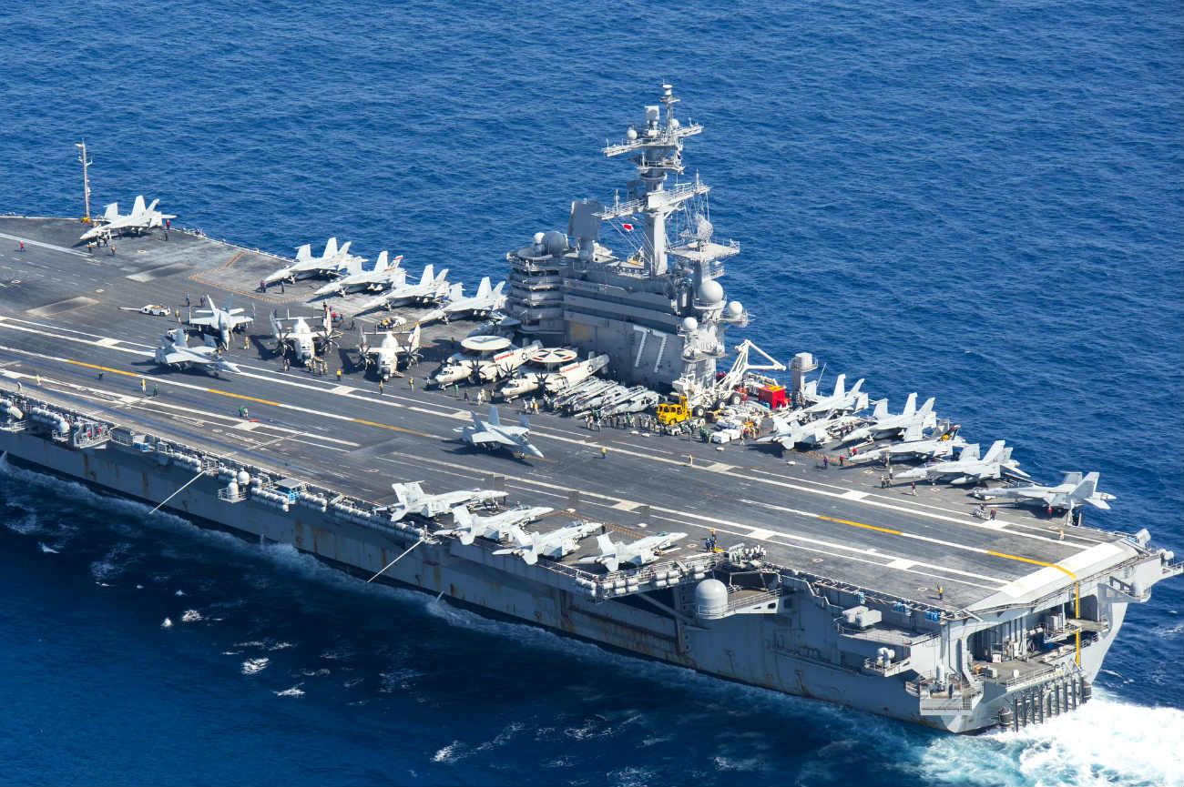 Aircraft carrier HW Bush