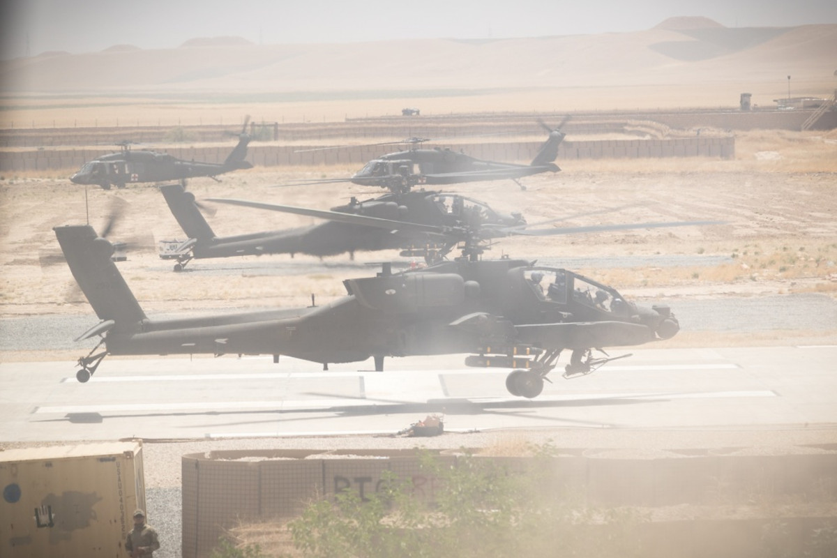 Apaches in Kunduz