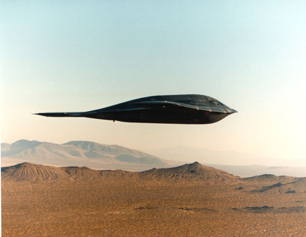 B-2 Spirit in Profile