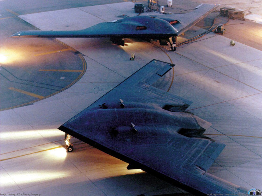 B-2 Spirit on Runway