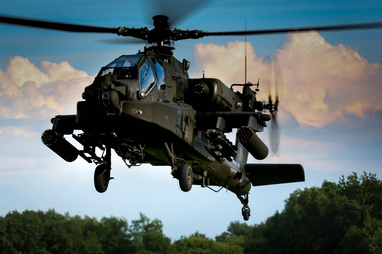 Boeing Military Aircraft - AH-64 Apache Attack Helicopter