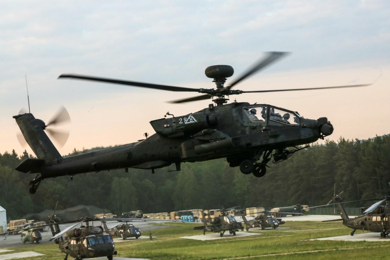 Boeing Military Aircraft - AH-64 Apache