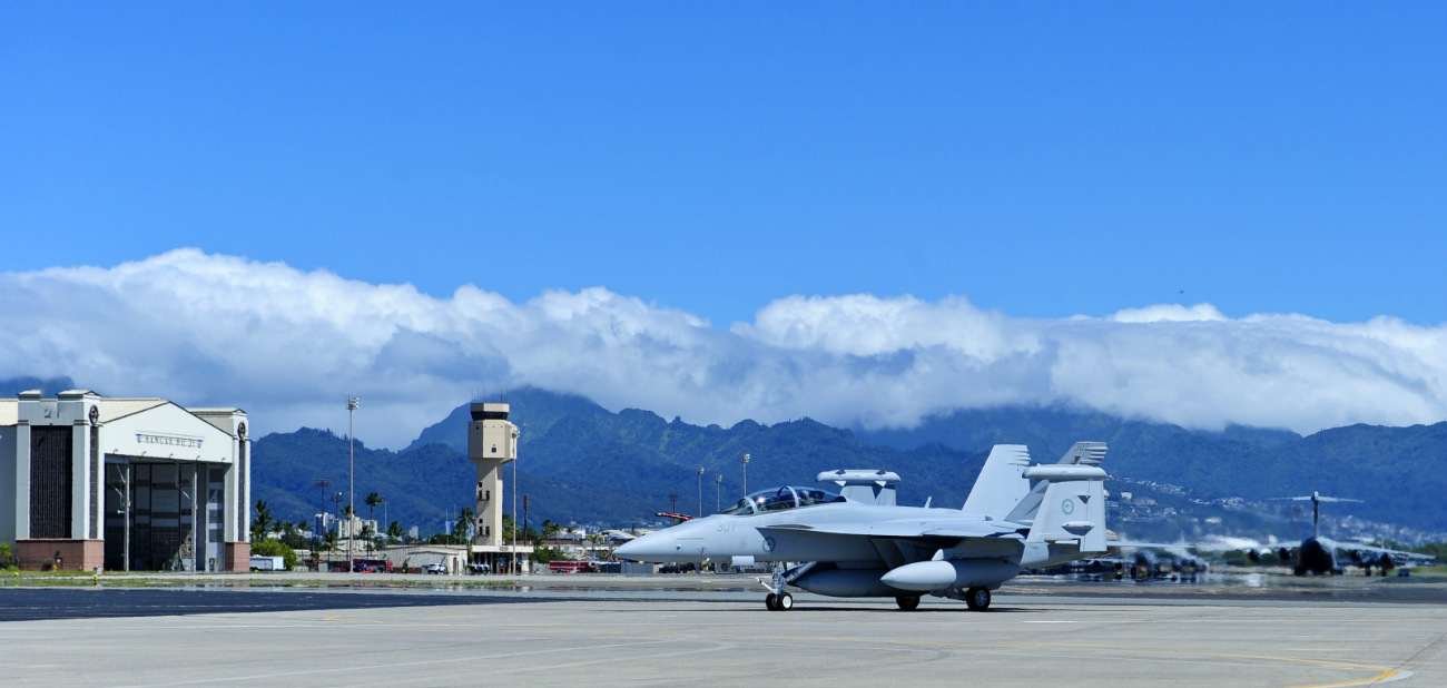 Boeing Military Aircraft - EA-18G Growler