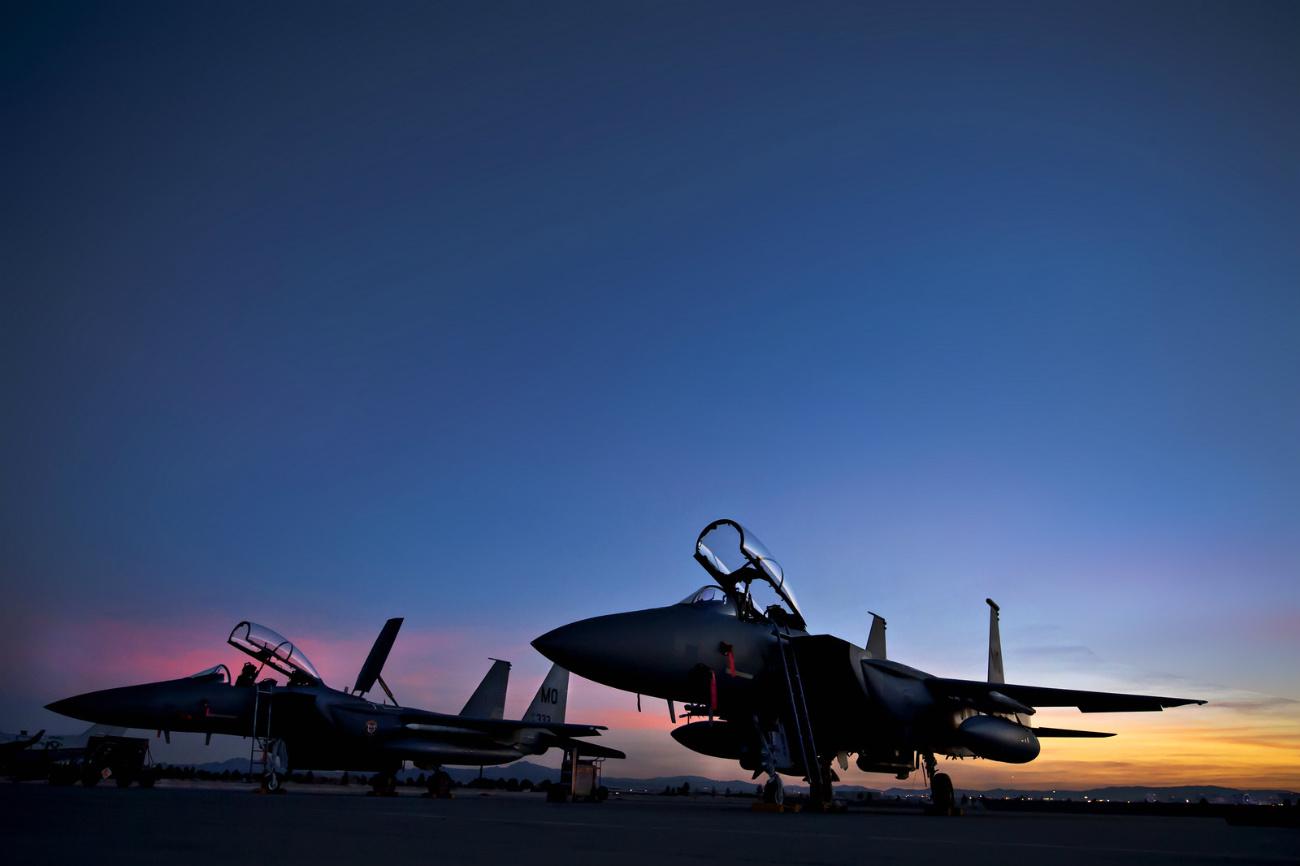 Boeing Military Aircraft - F-15 Strike Eagle