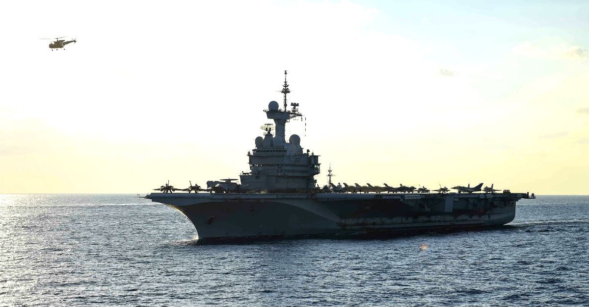 French Aircraft Carrier FS Charles de Gaulle (R 91)