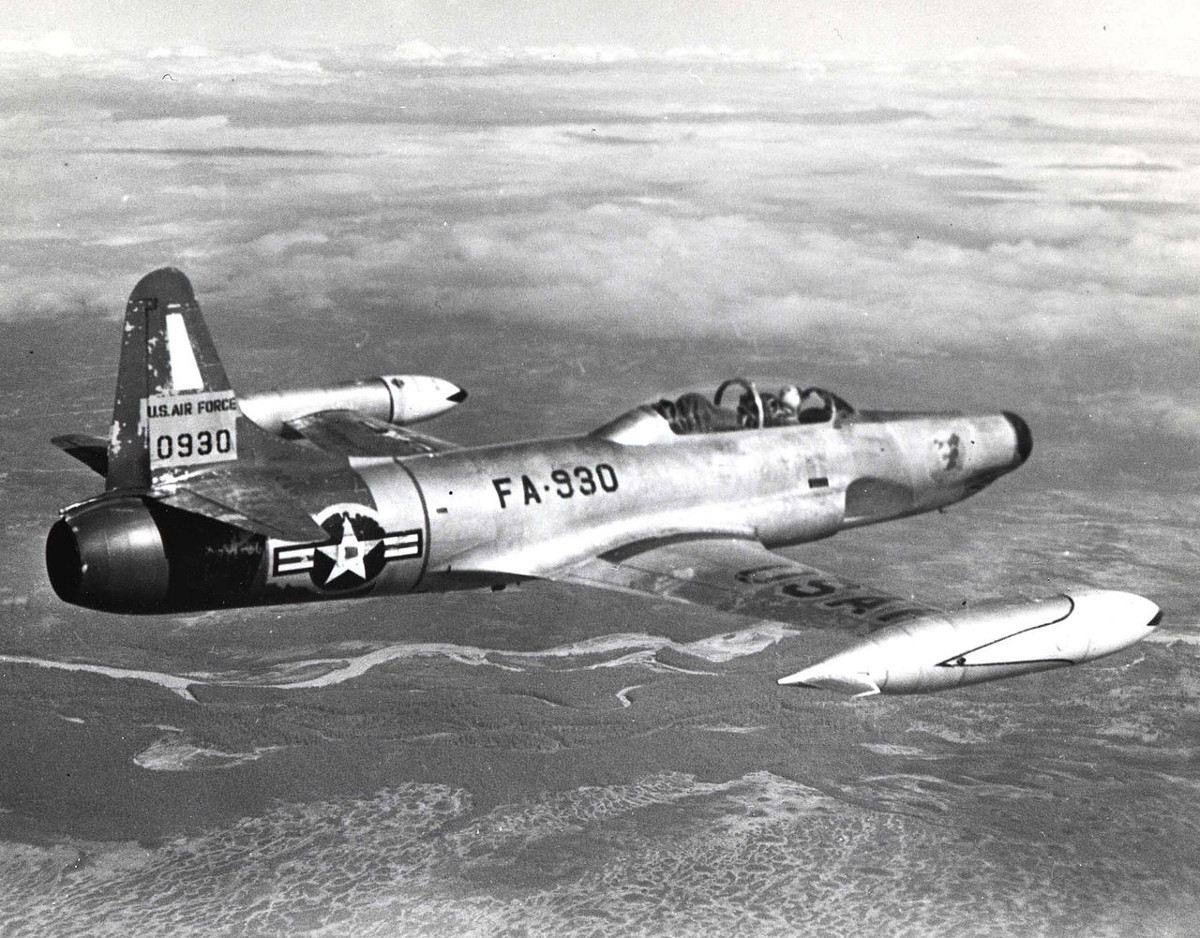 F-94B Starfighter Over Korea