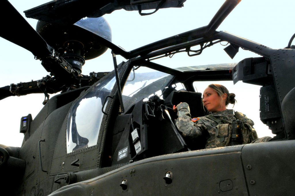 Female Apache Pilot