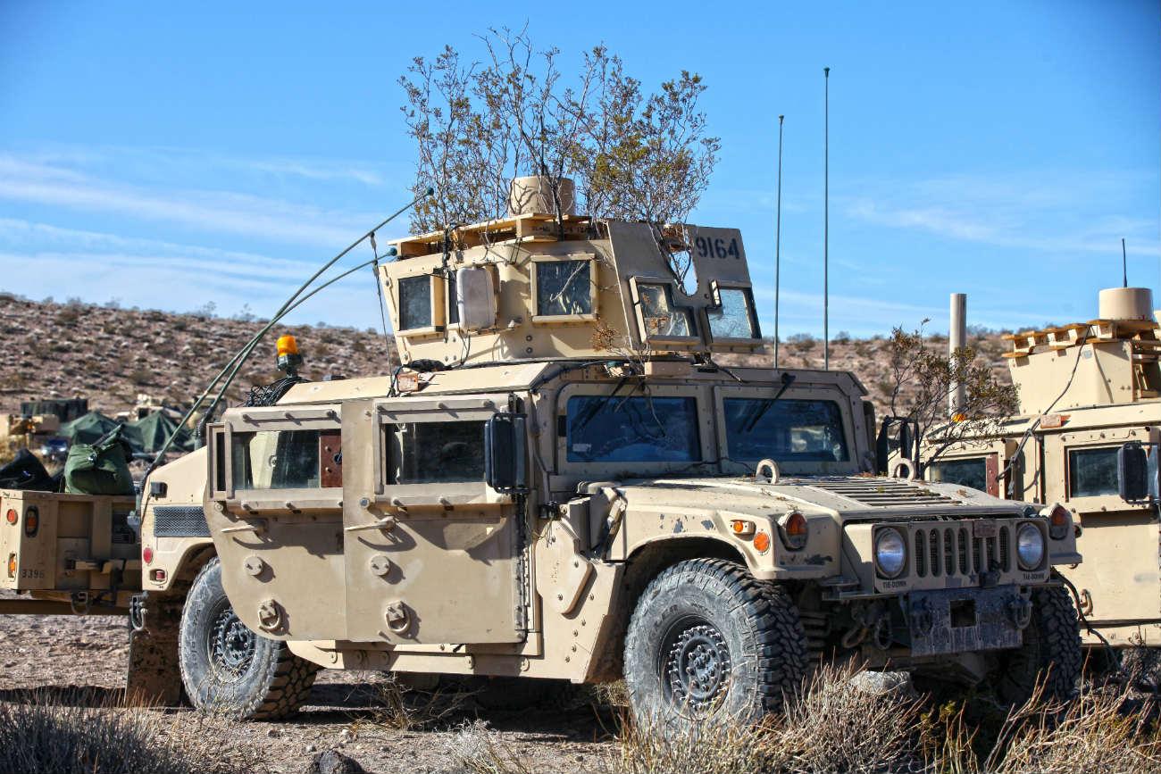 HMMWV - Electronic warfare group