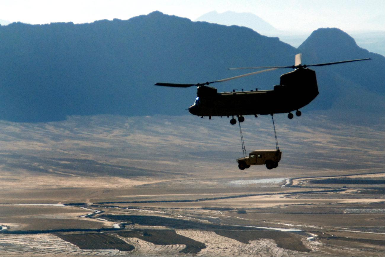 HMMWV - Humvee transport