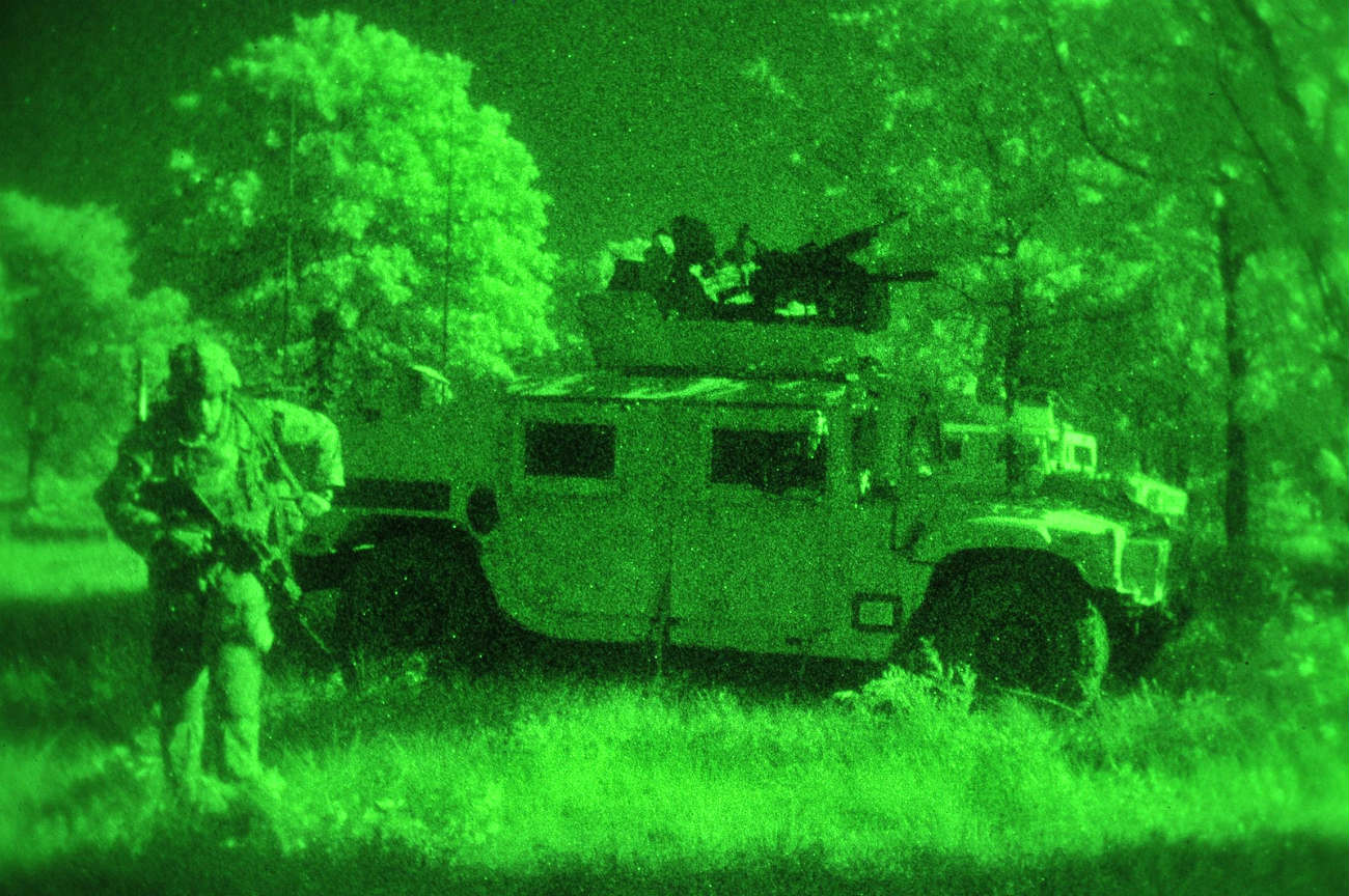 HMMWV - Live fire exercises