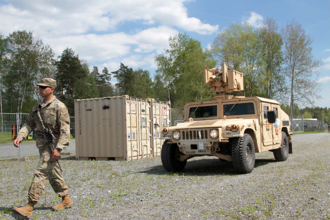 HMMWV - Loading yard