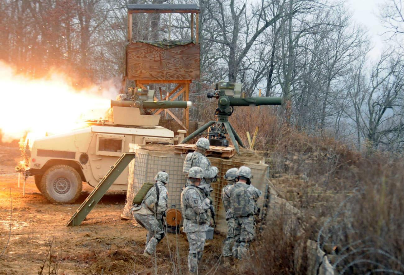 HMMWV - Missile training