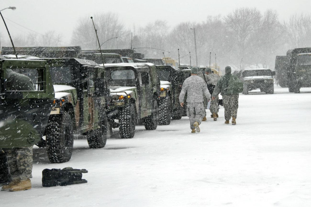 HMMWV - Roadside assistance