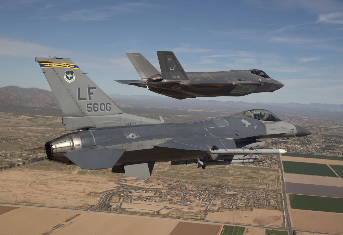 F-35 LIghtning IIs at Red Flag