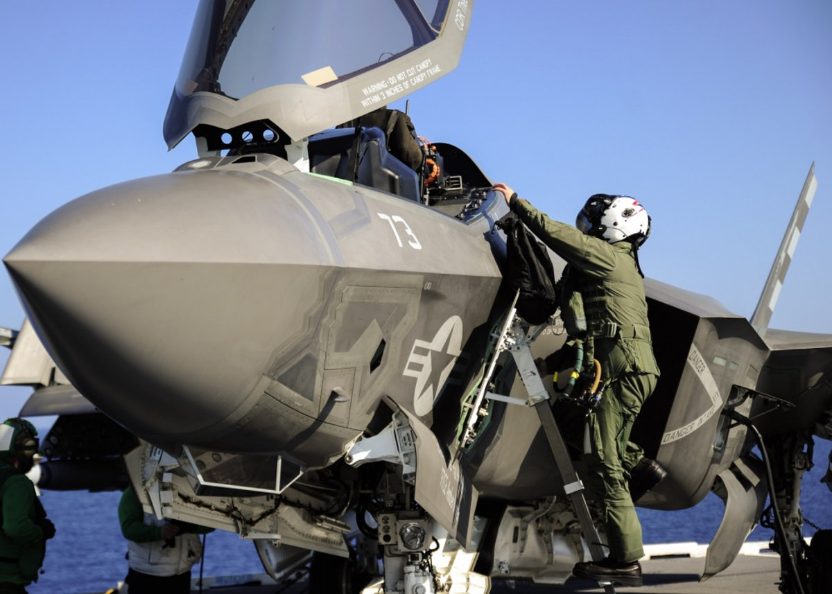 US Navy F-35 LIghtning II
