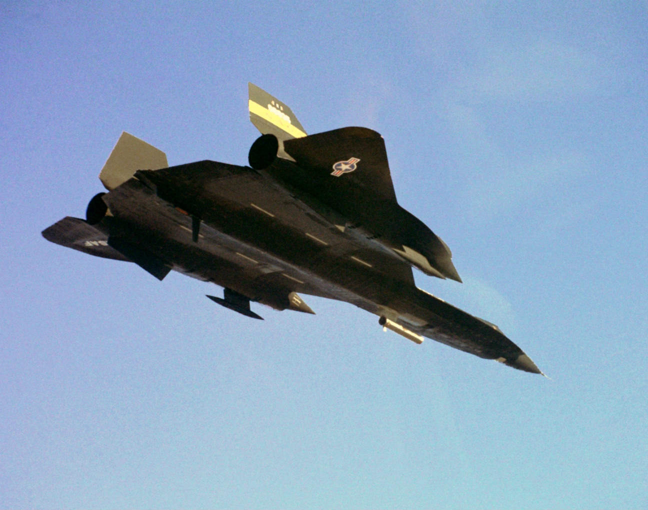 Lockheed YF-12 - Coldwall experiment