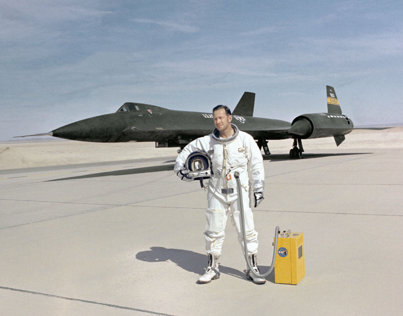 Lockheed YF-12 - NASA Test Pilot Don Mallick