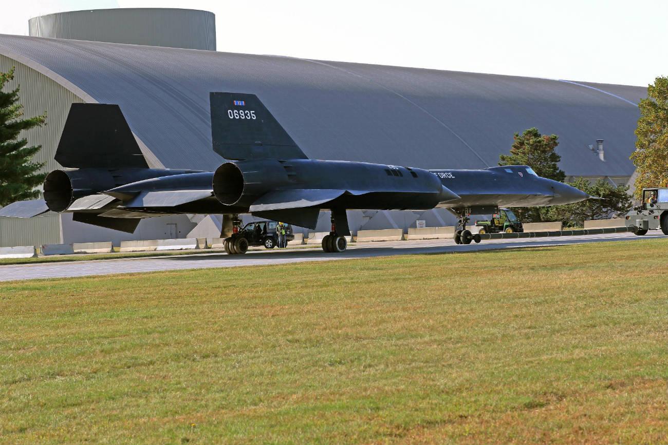 Lockheed YF-12 - National Museum USAF 4th Bldg
