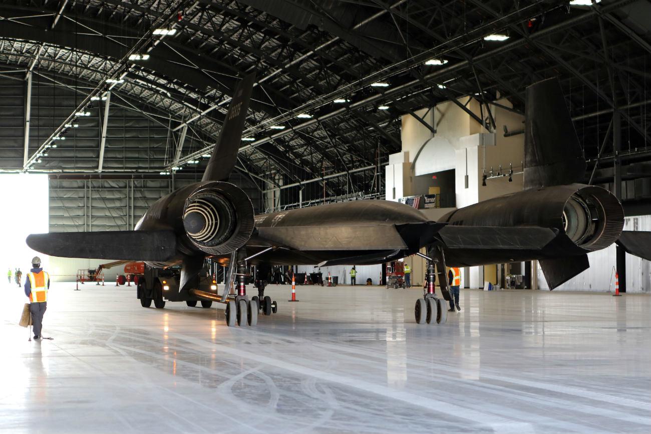 Lockheed YF-12 - National Museum USAF hangar