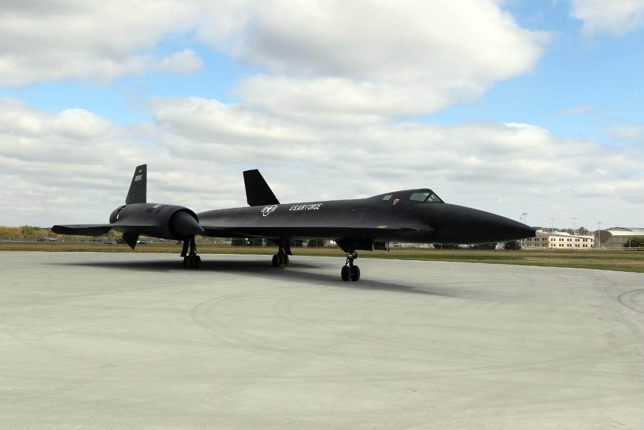Lockheed YF-12 - On display
