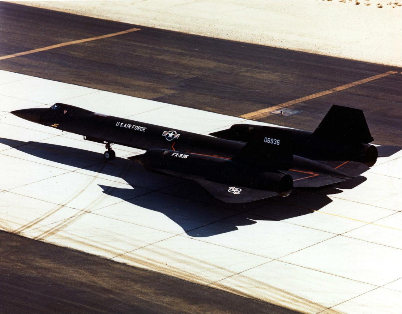 Lockheed YF-12 - On taxiway