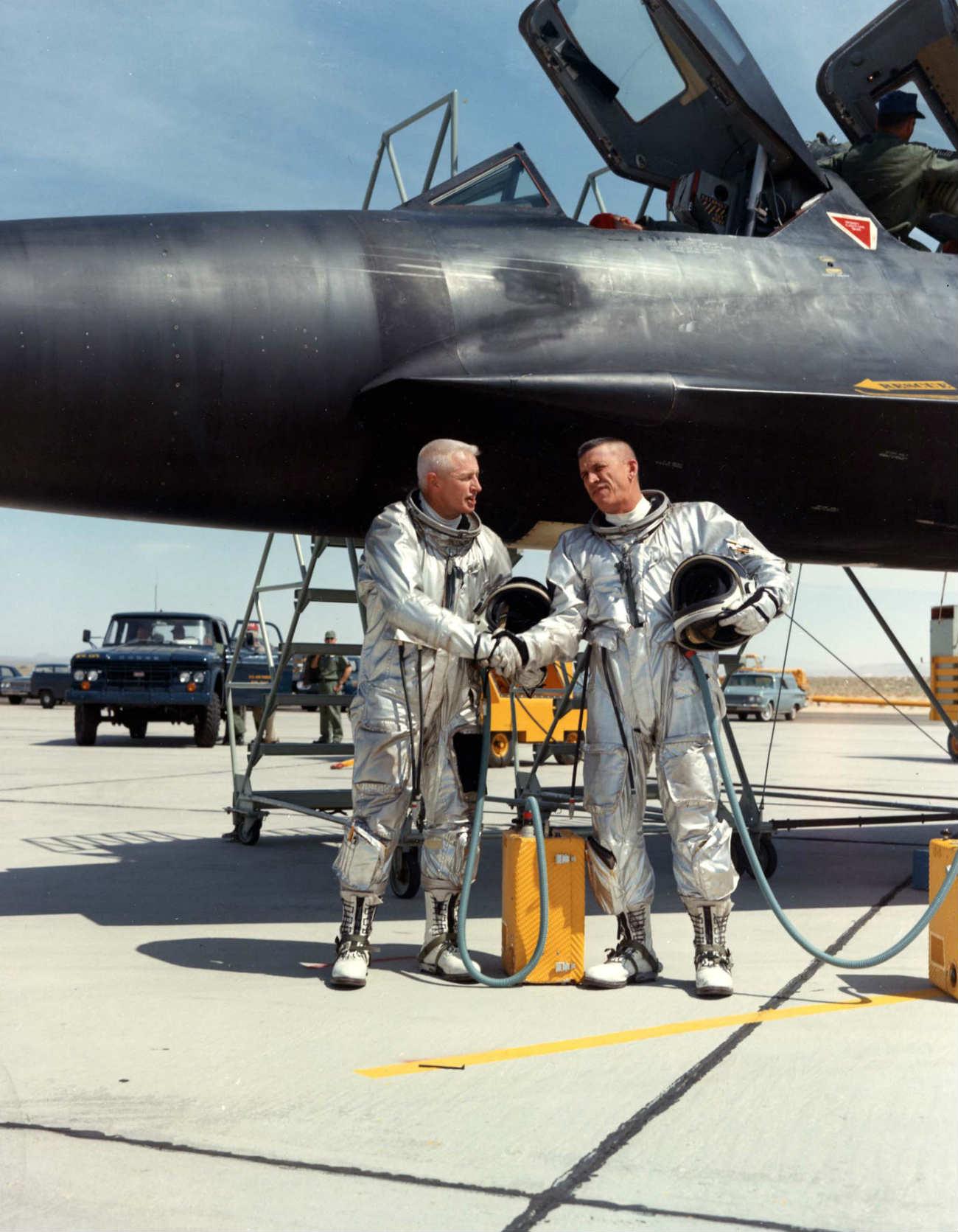 Lockheed YF-12 - Pilots