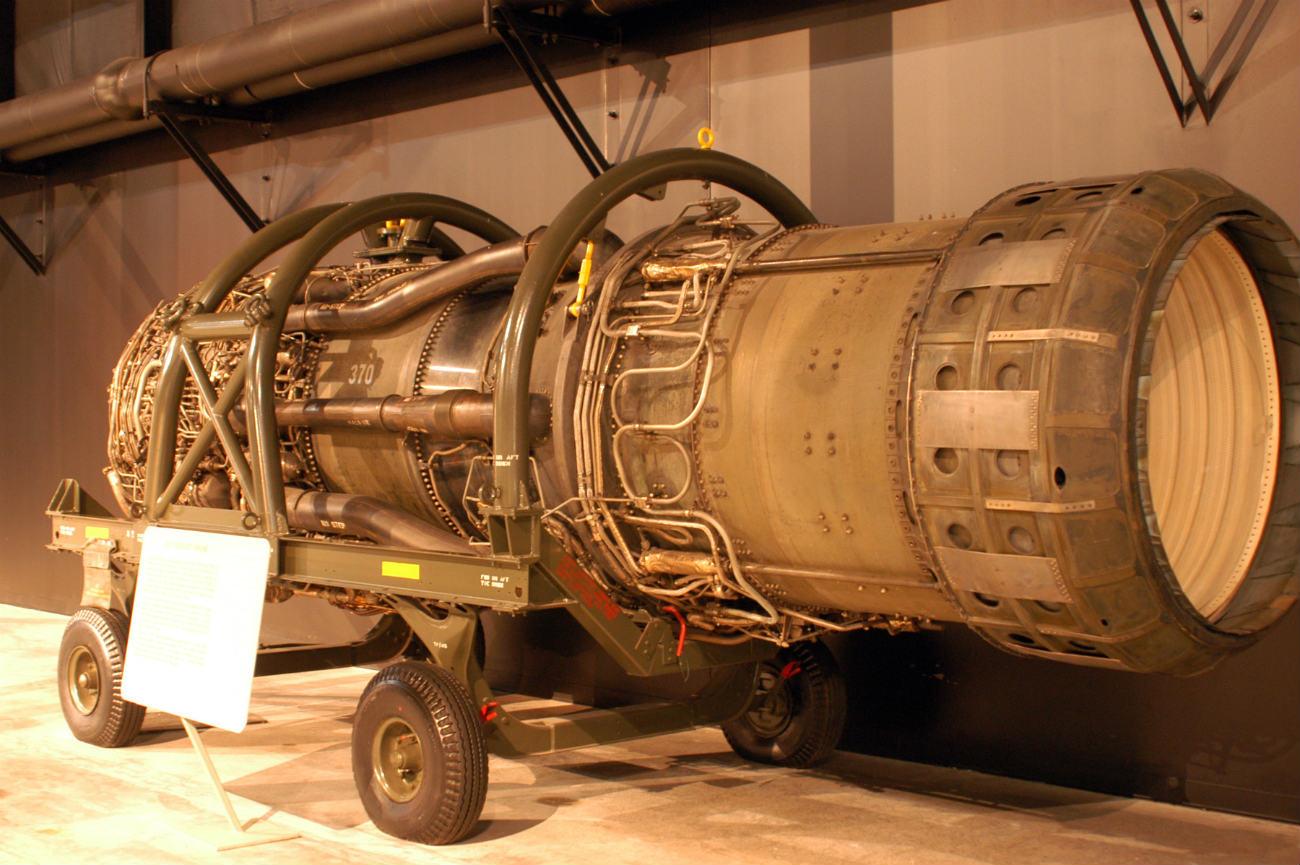 Lockheed YF-12 - Pratt & Whitney J58 turbojet engine