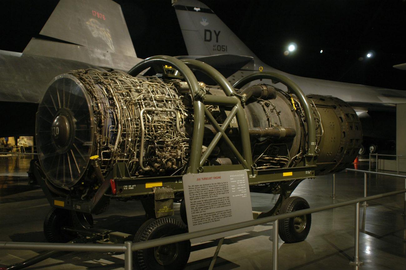 Lockheed YF-12 - Pratt & Whitney J58