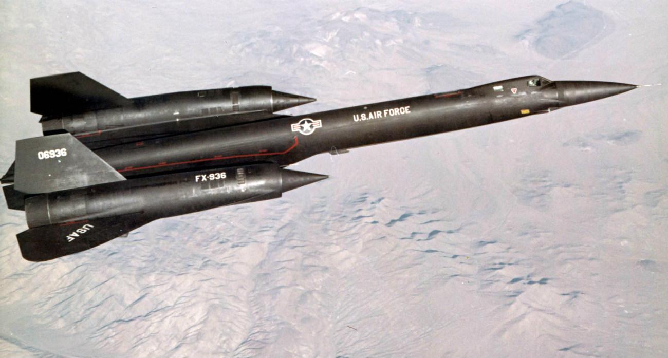Lockheed YF-12 - Special black paint