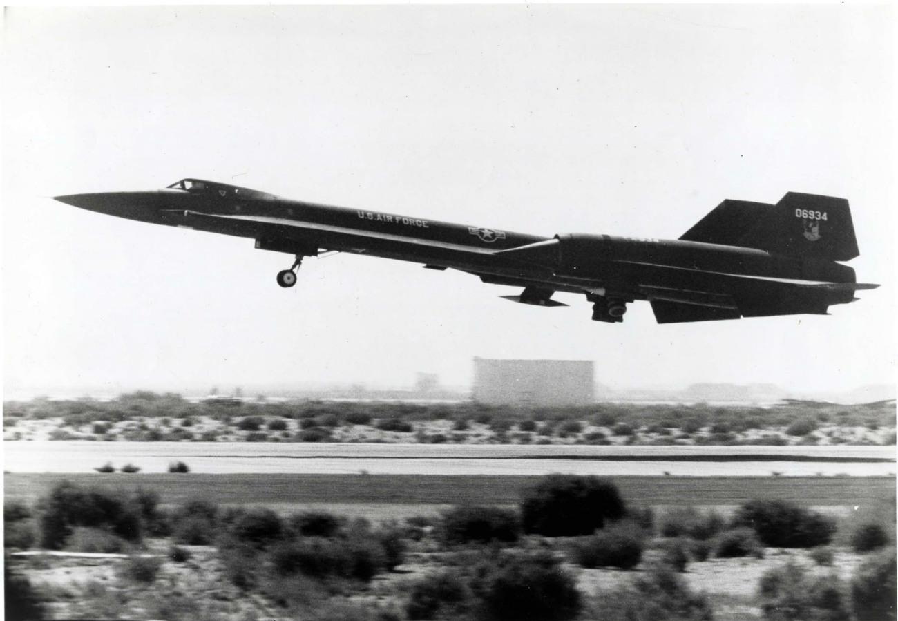 Lockheed YF-12 - Takeoff