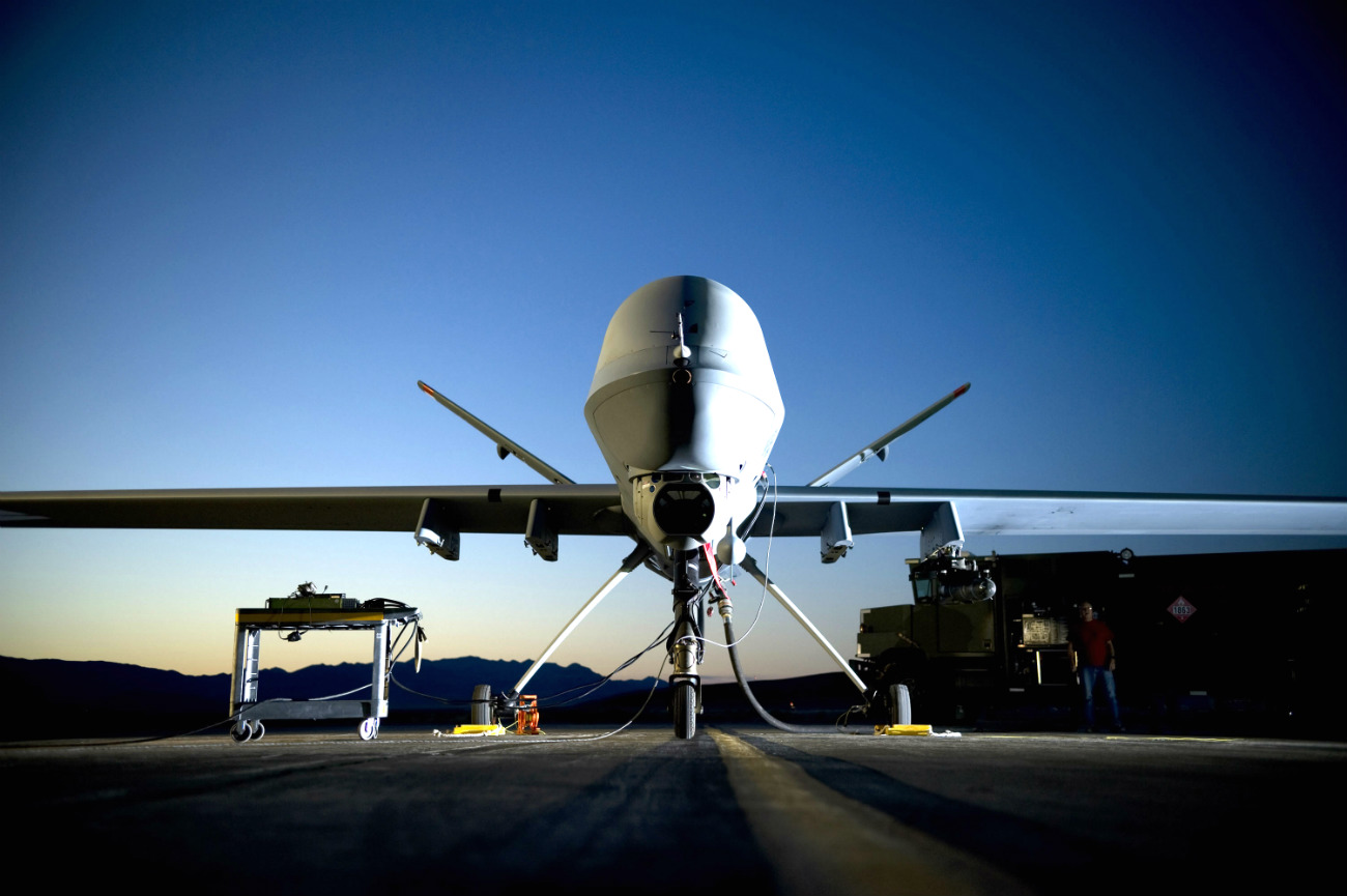 MQ-9 Reaper Images - Creech Air Force Base