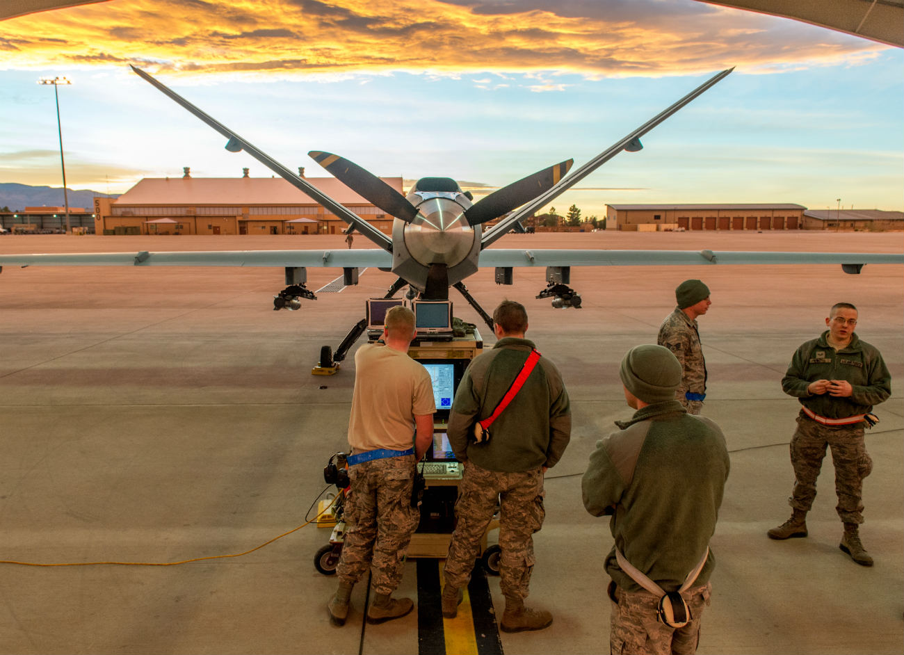 MQ-9 Reaper - Diagnostics