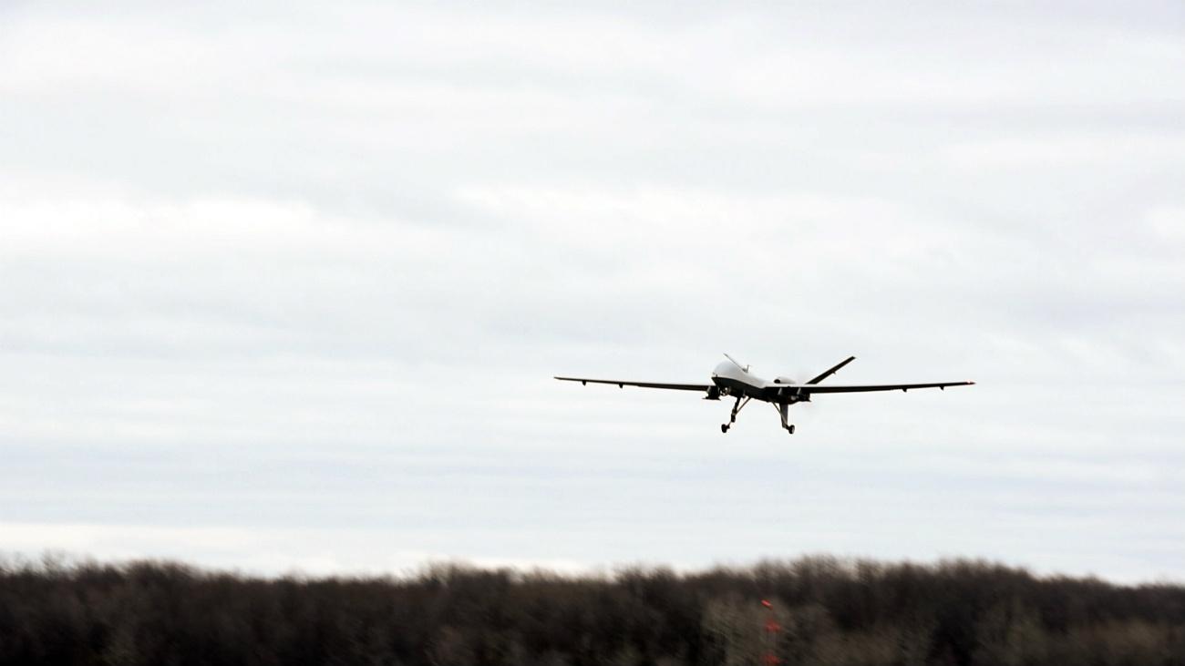 MQ-9 Reaper - First remote flight