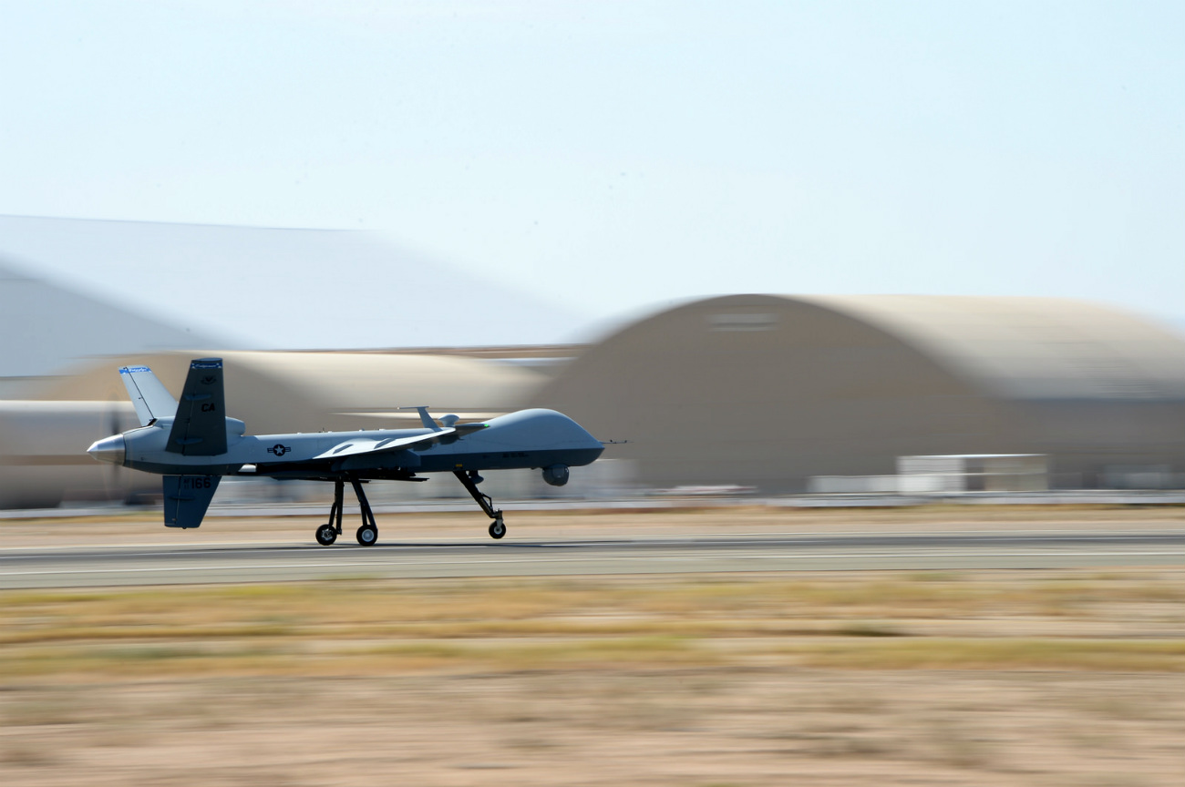 MQ-9 Reaper - First takeoff