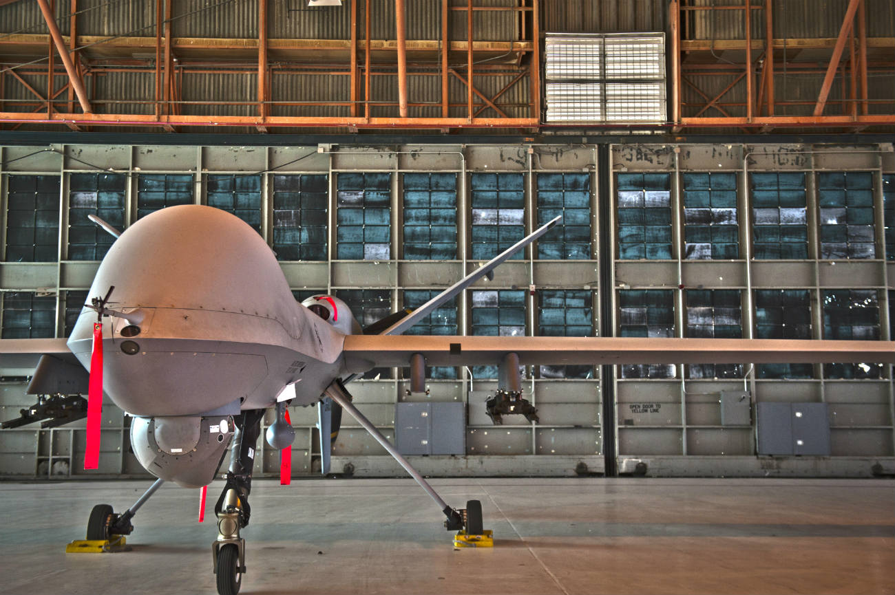 MQ-9 Reaper - On display