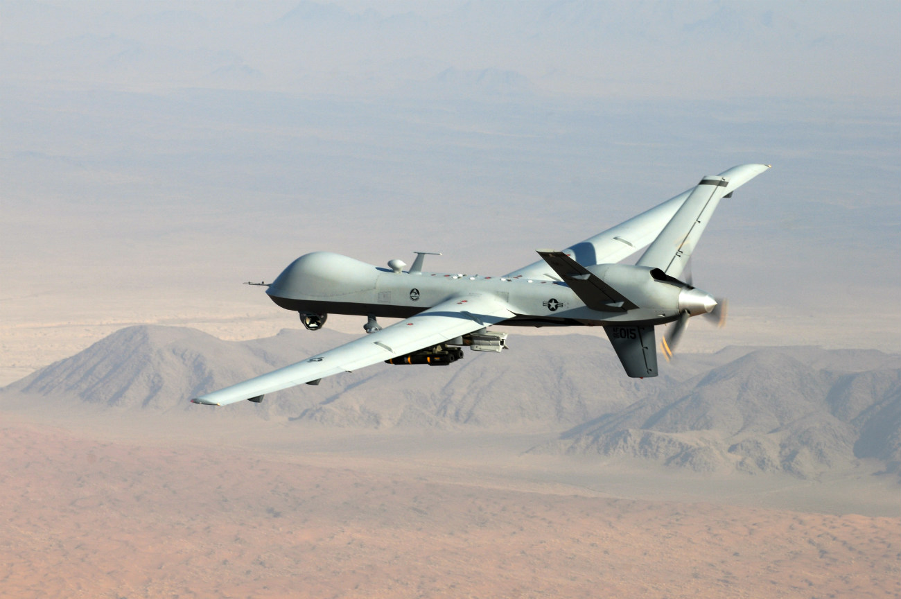 MQ-9 Reaper - On patrol