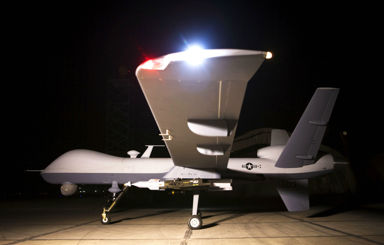 MQ-9 Reaper Images - On the ramp