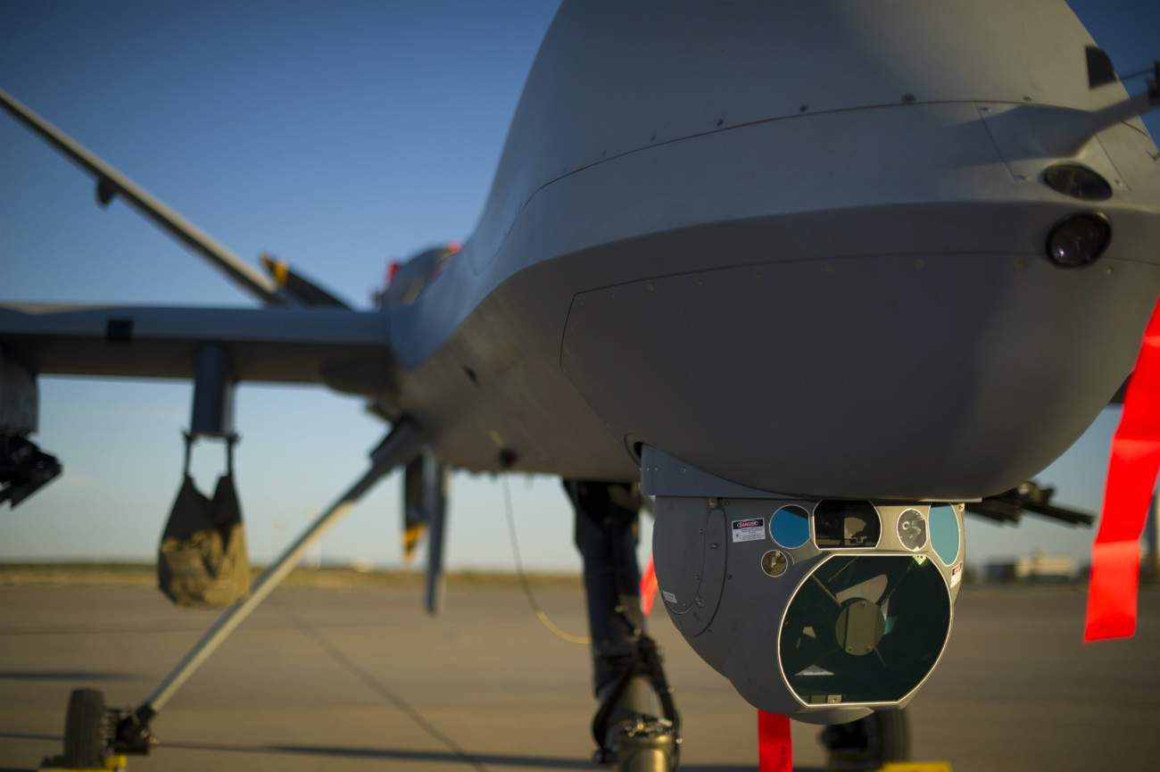 MQ-9 Reaper - Smile for the camera