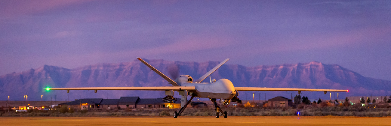 MQ-9 Reaper - Taxis back