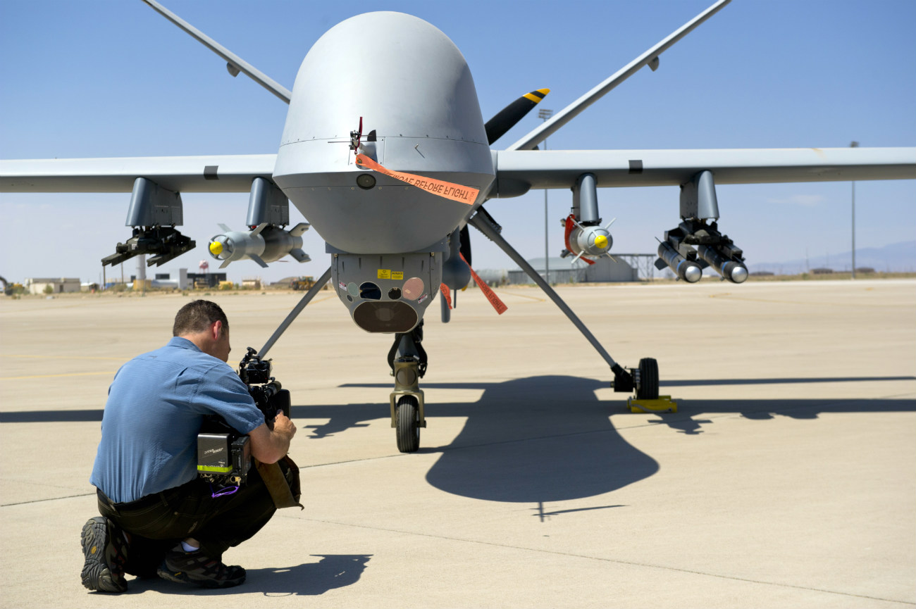 MQ-9 Reaper - The Today Show
