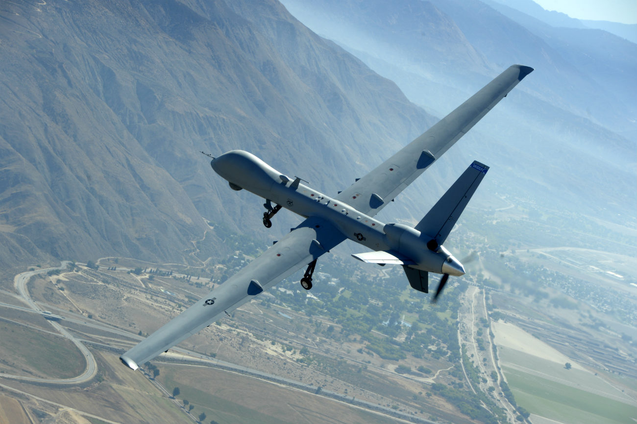 MQ-9 Reaper - Training flight