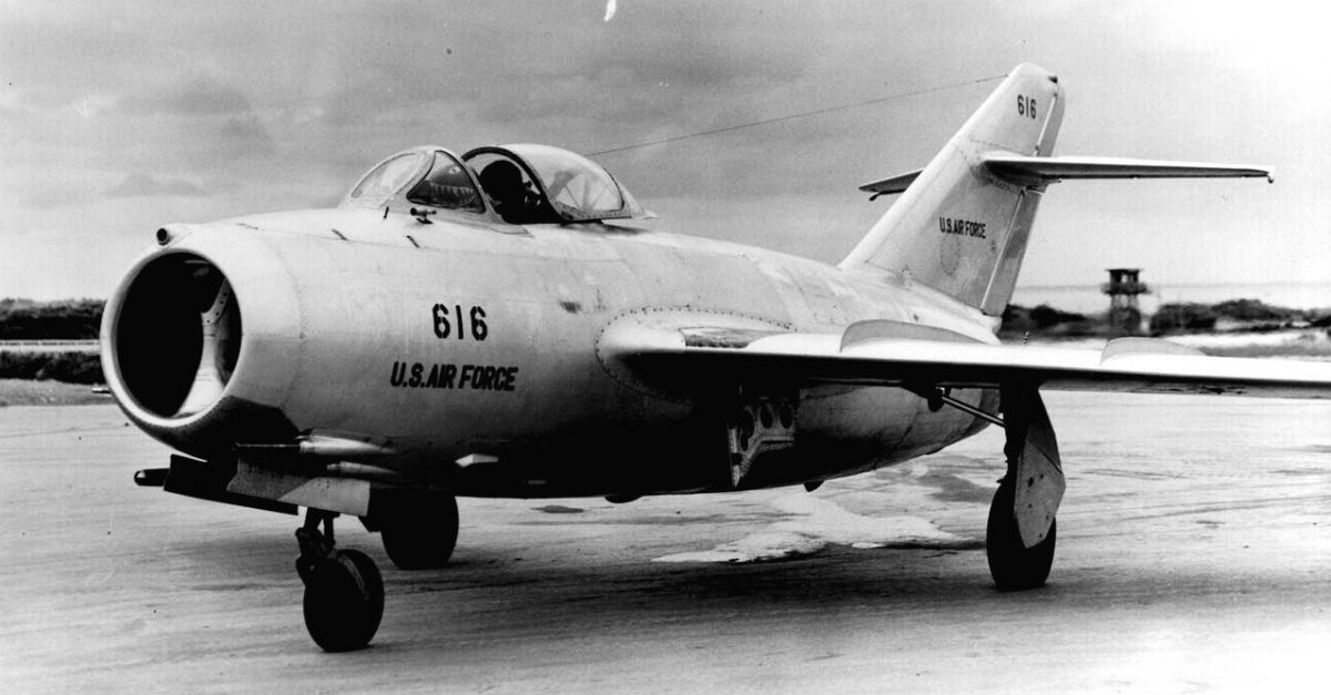 Lt. Kum Sok No of the North Korean Air Force MiG 15