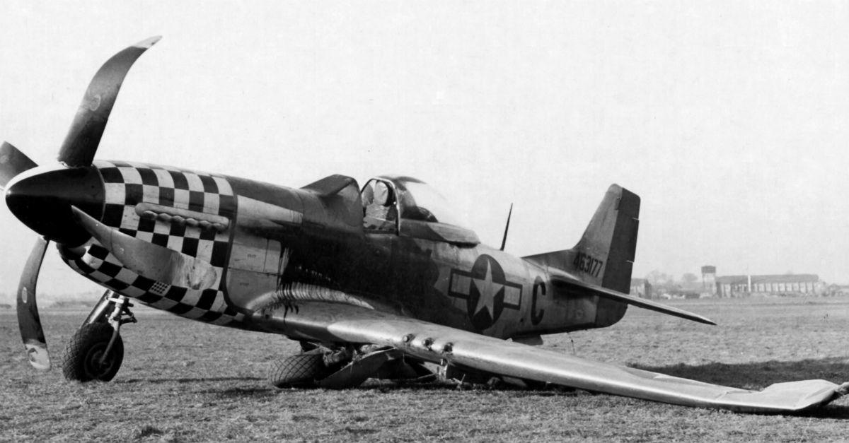 P-51 Crash Landing