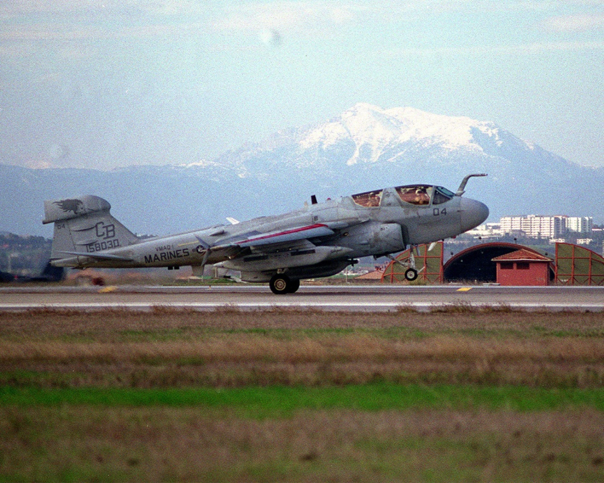 EA-6B Prowler on Takeoff in Japane