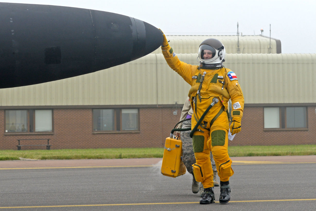 U-2 Dragon lady body suit