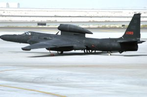 U-2 Dragon lady parked