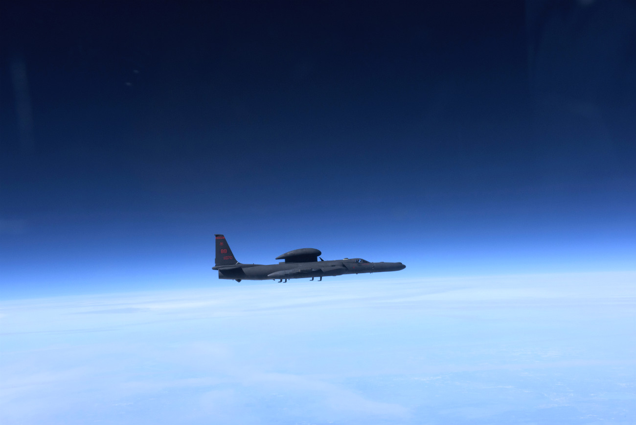 U-2 Dragonlady high altitude